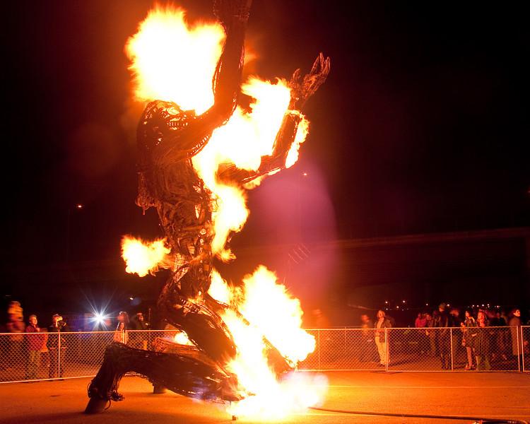Epiphany by Dan Das Man and Karen Cusolito at the Crucible's Fire Arts Festival, Oakland, July 2009.