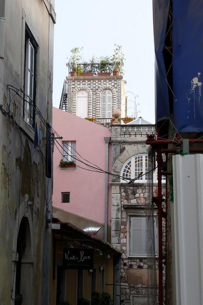 Alfama Neighborhood. Lisbon