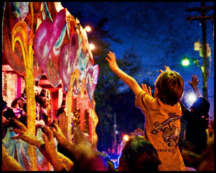 Night Parade Atmosphere