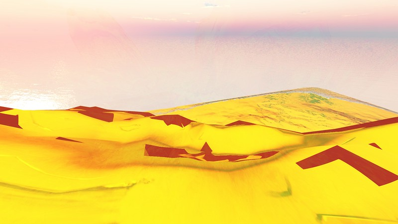 Gold Island 24 : A Computer Generated Image from Daily Animation