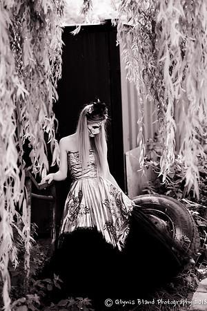 Katie - black and white