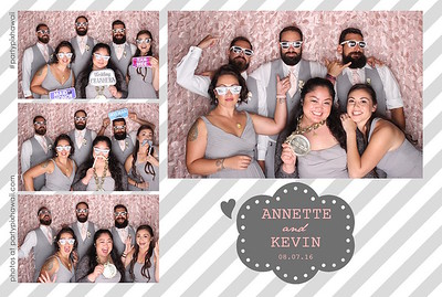 Annette & Kevin's Wedding (LED Open Air Photo Booth)