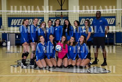 Braddock JV/V Girls Volleyball 09/24/18