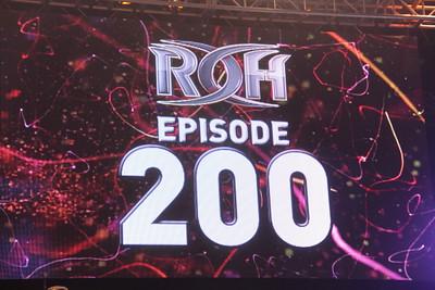 2015-06-20 Ring of Honor Wrestling Episode #200 @ New York, NY