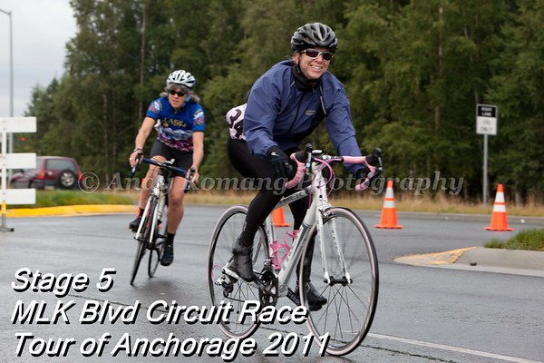 Tour of Anchorage 2011 Stage 5 MLK BLVD Circuit Race