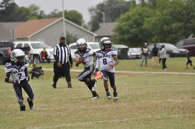4th Grade Wichita Eastside Bears vs Saints Sept. 29, 2018