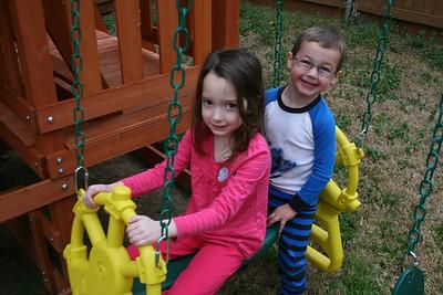 Cousins Visit - March 2013