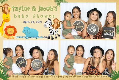 Taylor & Jacob's Baby Shower (Mini LED Photo Booth)