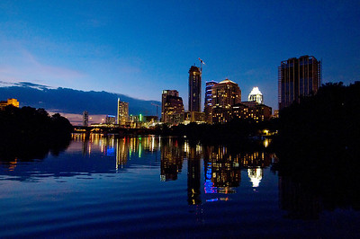Assorted Cityscapes from Lady Bird Lake