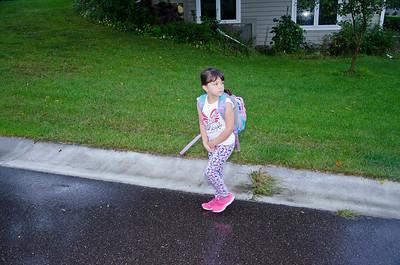 201609 Nessie First Day of School
