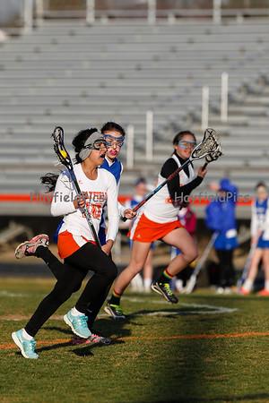 Girls JV Lacrosse West Potomac 4/3/13