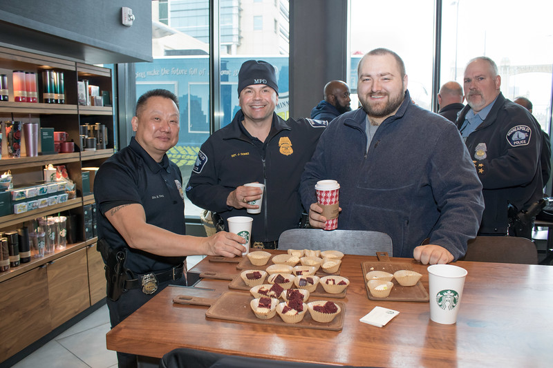 Starbucks  Coffee with a Cop