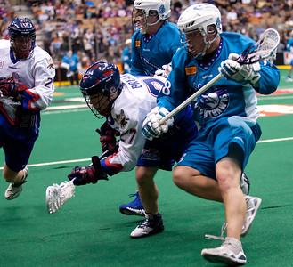 Rochester Knighthawks @ Toronto Rock 27 Jan 2012