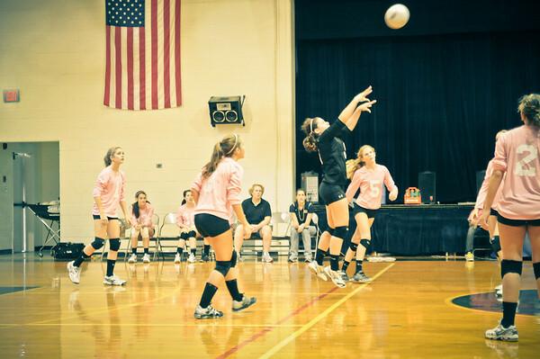10-07-2011 Volleyball