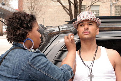 Chico DeBarge Addiction CD shoot in Chicago