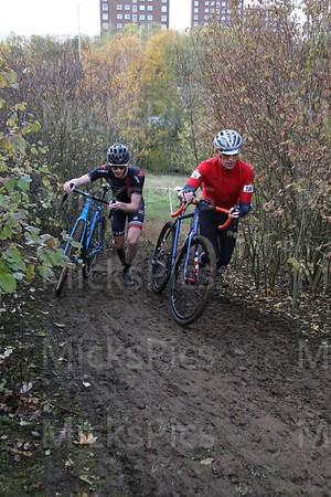 Hillingdon CX   Seniors race