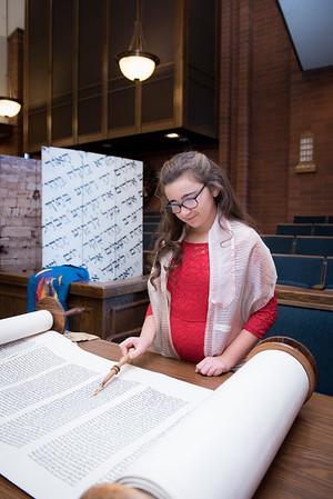 Allison M Bat Mitzvah