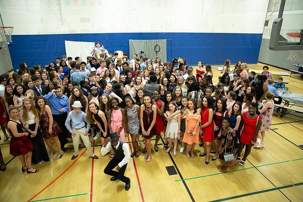 2018 8th Grade Masquerade Ball - ELMS - June 8, 2018