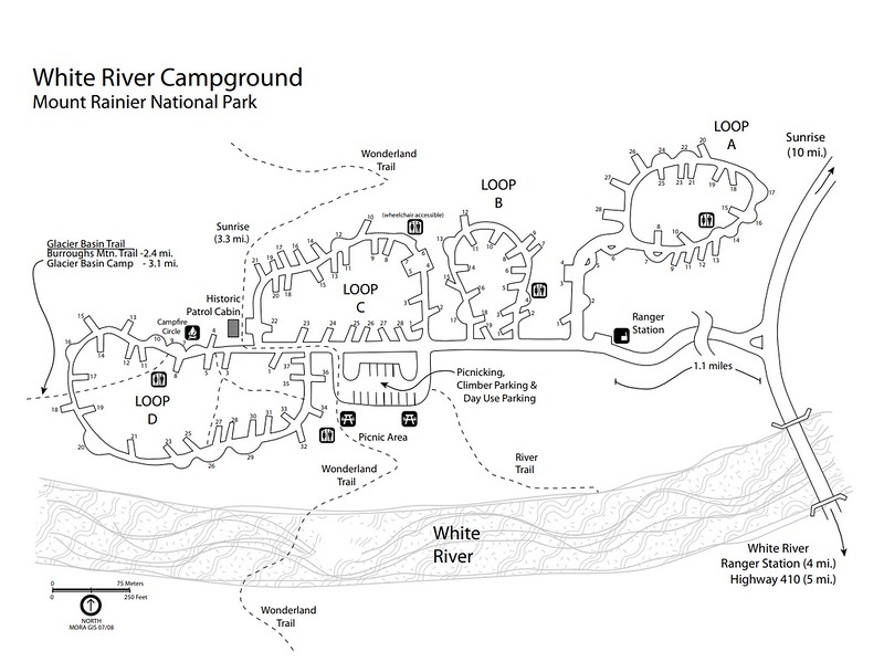 Mount Rainier National Park (White River Campground)