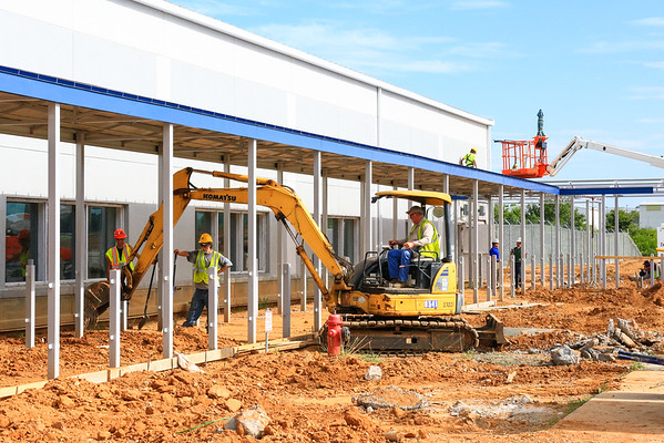 2016 July - Concord Regional Airport Commercial Terminal Construction