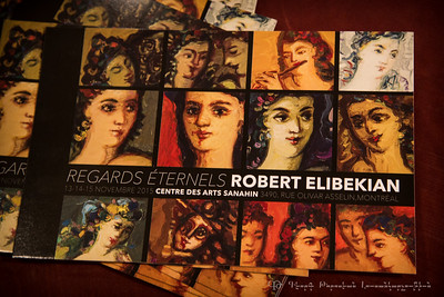 Robert Elibekian's exhibition