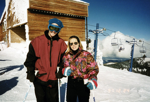 Skiing in NM