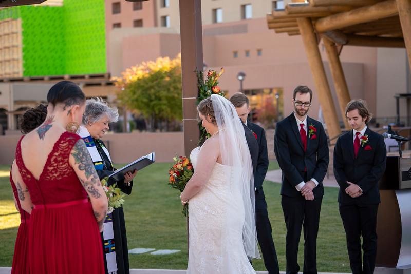 Sandia Hotel Casino New Mexico October Wedding Ceremony C&C-28.jpg