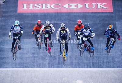 2018 HSBC National BMX Series Rd 2 Manchester