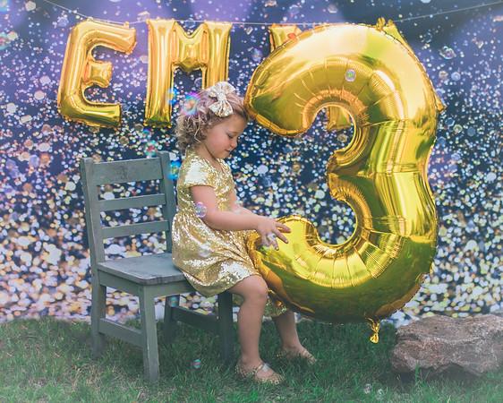 Emma 3 year Birthday