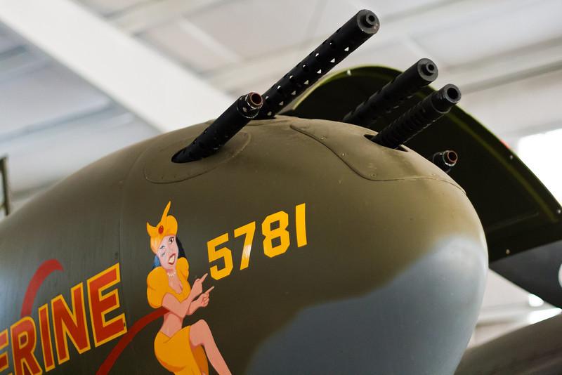 P-38 Lightning nose