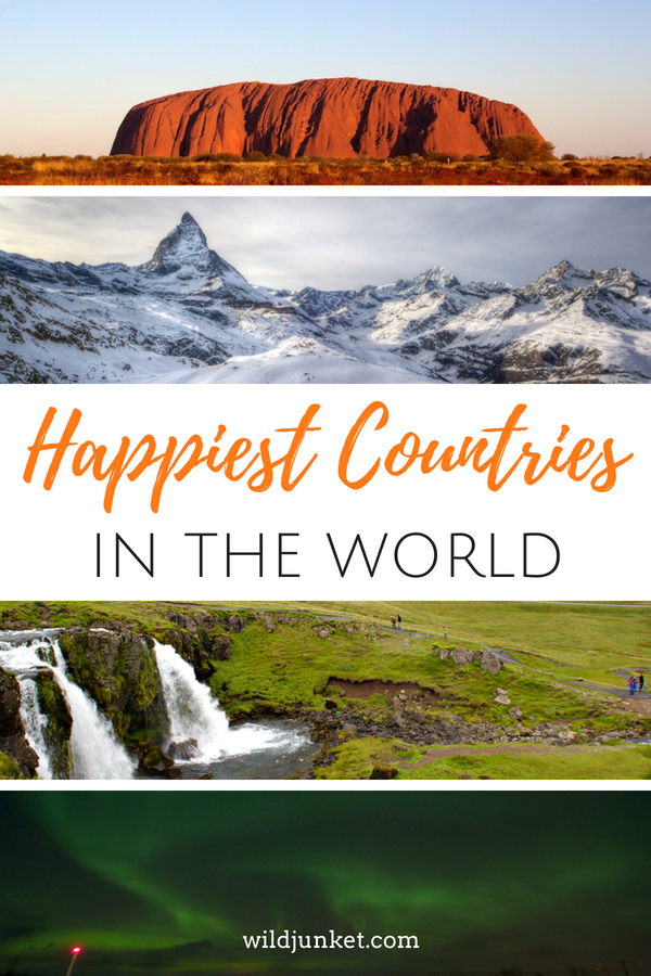 Happiest Countries in the World List 2018 - WildJunket Travel Blog