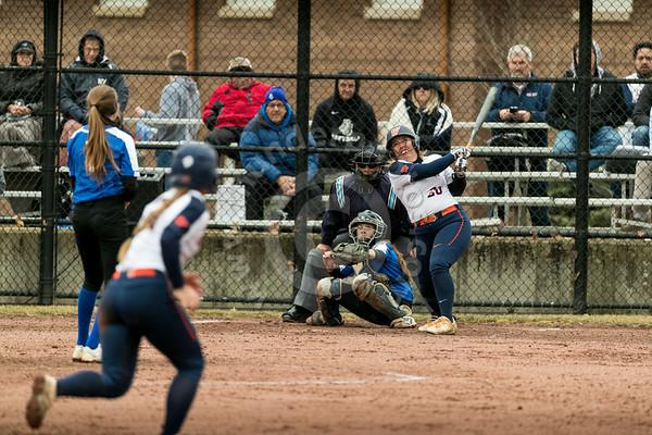 Wheaton College Softball vs Aurora University, March 21, 2019