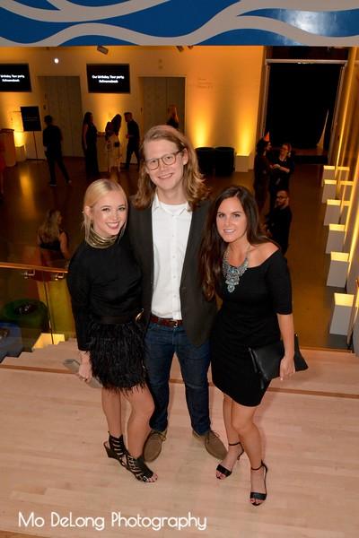 Courtney Griffin, Mark Hahnenberg and Kelly Huguenard