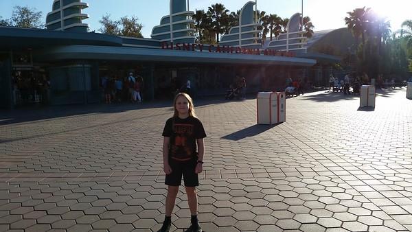 Scarlett's 10th Birthday Trip to California