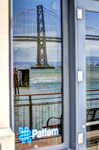 Reflecting Bay Bridge