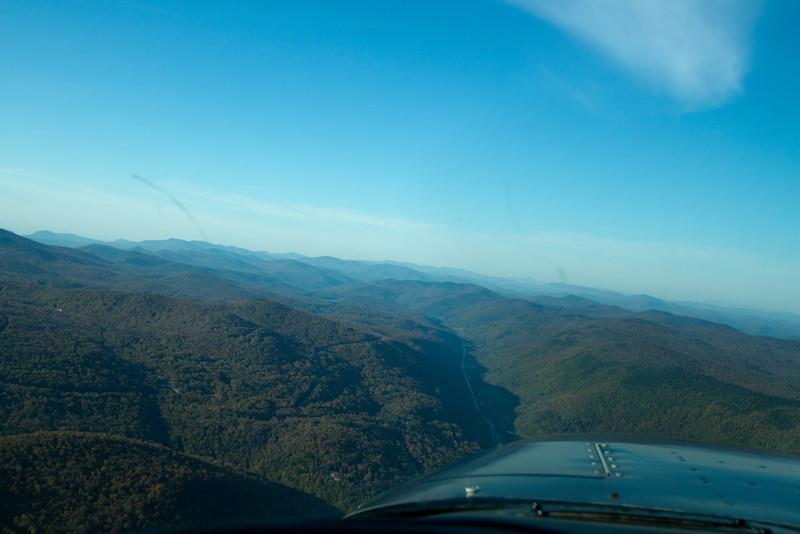 Valleys and ridges near Killington.
