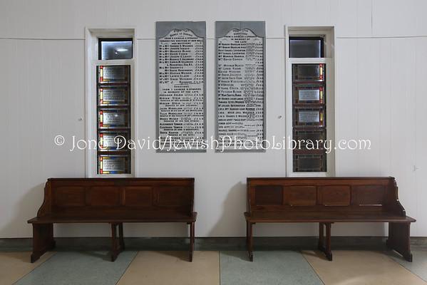 IRELAND, Dublin. Dolphins Barn Jewish Cemetery (8.2015)