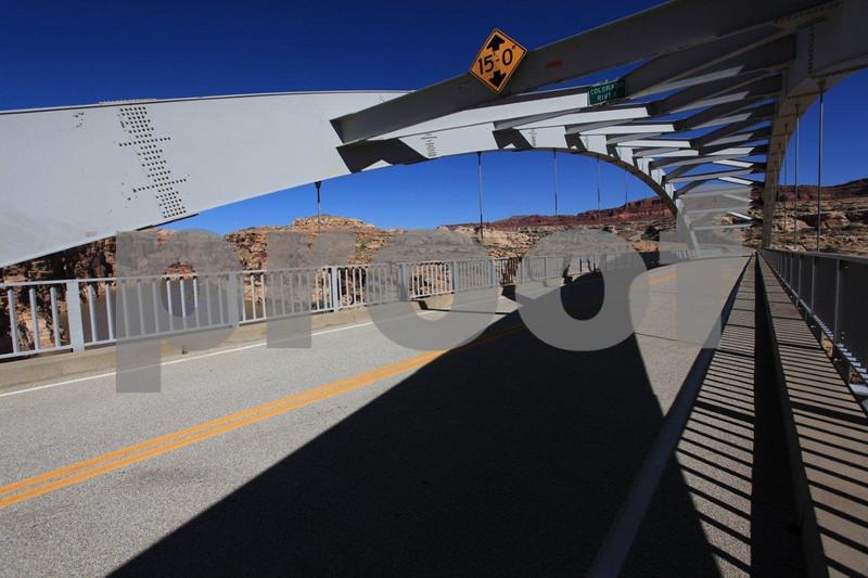 """""""Lake Powell"""", Utah, bridge, 0598"""