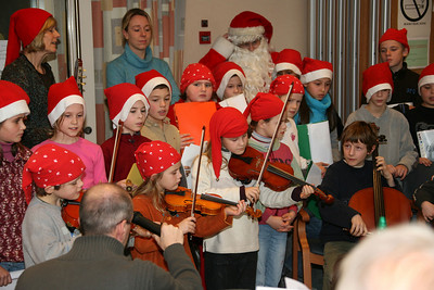 Kerstfeest in Woon- en Zorgcentrum 't Blauwhof 2005