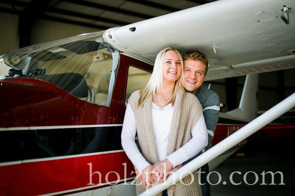 Katie & Ashton Color Engagement Photos