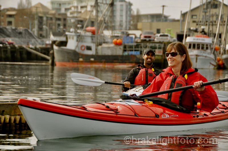 Kayaking Victoria Harbour