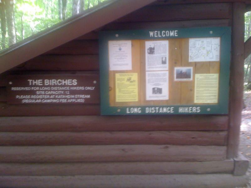 Birches Campground at Baxter