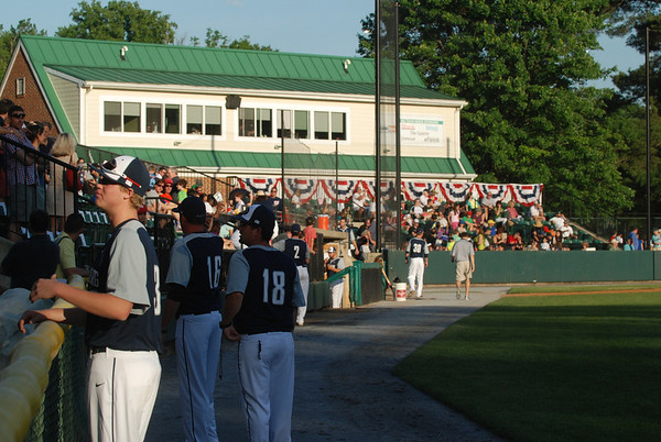 2014 Giants May 31 Exhibition - Povich Field