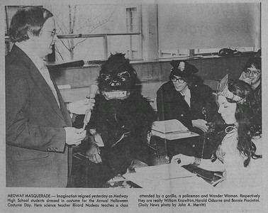 Medway High School 1979
