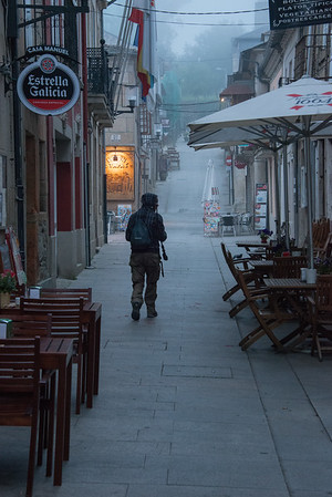 Sarria on the Camino Santiago