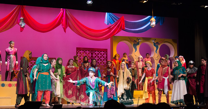 """Fate"" (reprise) -- Kismet, Montgomery Blair High School spring musical, April 15, 2016 performance (Silver Spring, MD)"