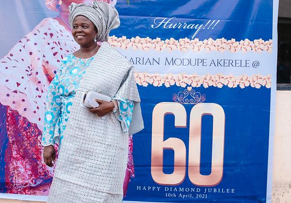 Mummy Akerele @ 60