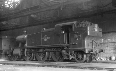 GWR Locomotives at Oxford 1965