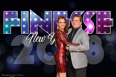 Finesse New Years Eve 2018 Photo Booth