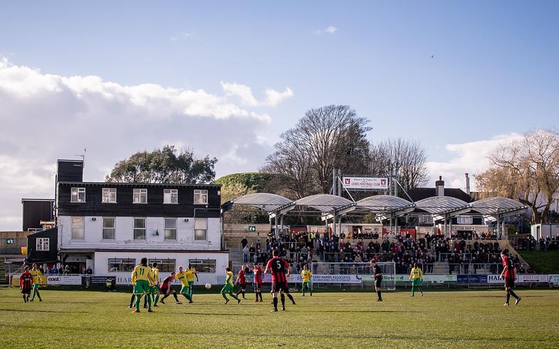 Lewes v Dulwich Hamlet